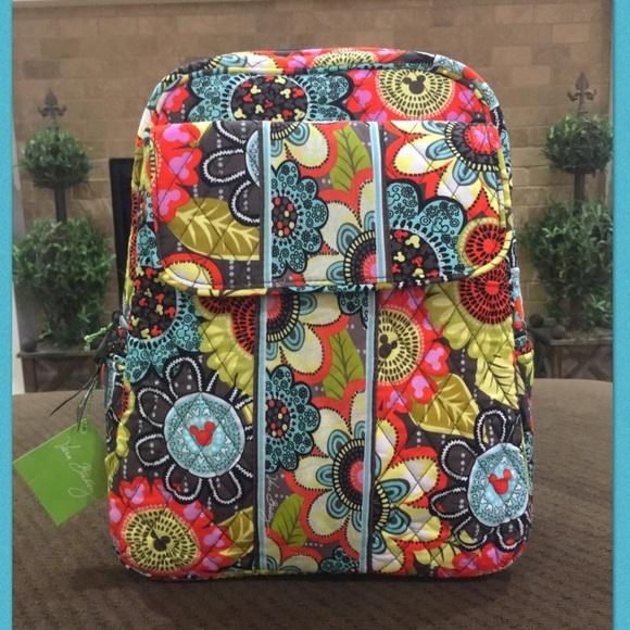 6d1e9bfbcc  99 Vera Bradley- Disney Parks Backpack!